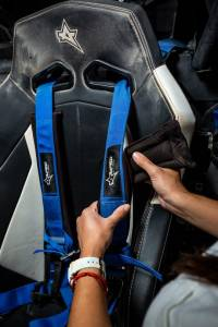 Amped Off-Road - 4.2 Latch & Link UTV Off-Road Harness w/Removable Pads (Colors Available) - Image 11