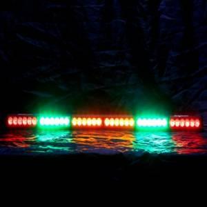 "Rear Light Bar Store - Rear Chase Light 36"" LED Light Bar – Baja Sur Dual Color (Green/White) - Image 2"