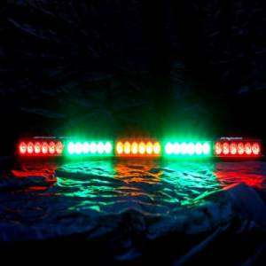 "Rear Light Bar Store - Rear Chase Light 30"" LED Light Bar – Baja Sur Dual Color (Green/White) - Image 3"