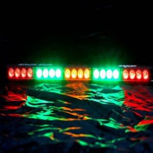 """Rear Light Bar Store - Rear Chase Light 22"""" LED Light Bar – Baja Sur Dual Color (Blue/Green) - Image 4"""