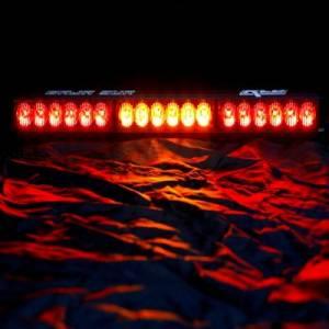"Rear Light Bar Store - Rear Chase Light 18"" LED Light Bar – Baja Sur Dual Color (Amber/White) - Image 3"