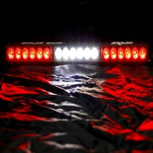 "Rear Light Bar Store - Rear Chase Light 18"" LED Light Bar – Baja Sur Dual Color (Amber/White) - Image 4"