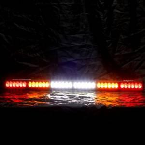 """Rear Light Bar Store - Rear Chase Light 36"""" LED Light Bar – San Felipe Dual Function (Amber/White) - Image 2"""