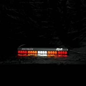 """Rear Light Bar Store - Rear Chase Light 22"""" LED Light Bar – San Felipe Dual Function (Amber/White) - Image 2"""